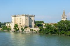 Tarascon, Schloss Stockbild