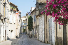 Tarascon, street Royalty Free Stock Photo