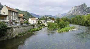 Tarascon-sur-Rhône Royalty Free Stock Photography