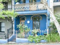 Tarasowy domowy paddington Sydney Zdjęcie Stock