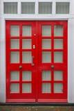 Tarasowy drzwi Zdjęcia Stock