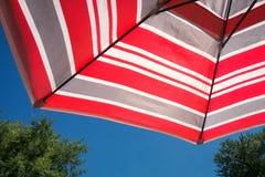 Tarasowy parasol Obrazy Royalty Free