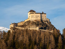 Tarasp castle Stock Photography