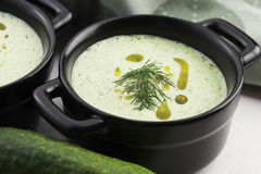 Tarator, bulgarian soup Stock Photography