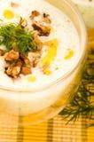 Tarator - traditional bulgarian soup Stock Photography
