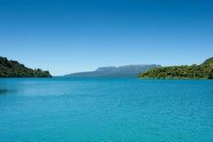 tarawera λιμνών montain Στοκ Εικόνες