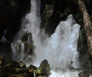 Tarawera Waterfall Stock Photo