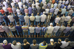 Tarawih祷告穆斯林 免版税库存照片