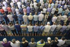 Tarawih modlitwy muzułmanie Zdjęcia Royalty Free