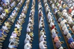Tarawih prayers the Muslims Royalty Free Stock Photography