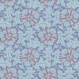 Taraxacum seamless pattern background vector Stock Photos