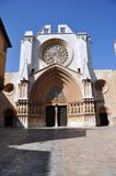 Tarazona Cathedral Royalty Free Stock Images