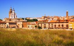 Tarazona in  sunny day Stock Photos