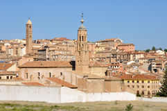 Tarazona, town in Saragossa (Spain) Stock Image