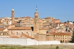 Tarazona, town in Saragossa (Spain) Stock Image