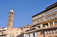 Tarazona, town in Saragossa, Spain Royalty Free Stock Photography