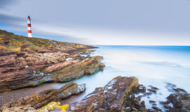 Tarbat Ness cliffs Royalty Free Stock Images