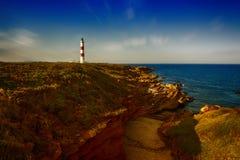 Tarbatness-Leuchtturm Stockfoto