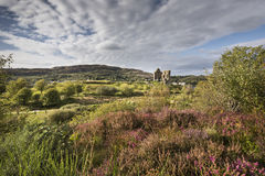 Tarbert Castle σε Argyll, Σκωτία στοκ φωτογραφίες με δικαίωμα ελεύθερης χρήσης