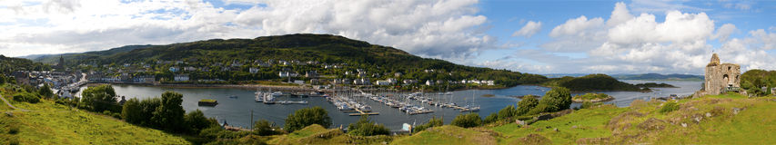 Tarbert castle Stock Photography