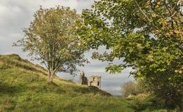 Tarbert kasztel w Argyll, Szkocja Zdjęcia Stock