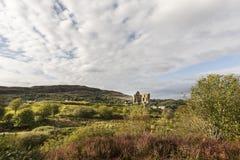 Tarbertkasteel in Argyll, Schotland stock foto's