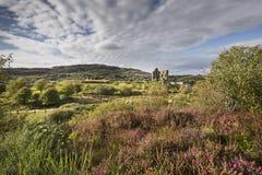 Tarbertkasteel in Argyll, Schotland royalty-vrije stock foto's