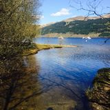 Tarbet, Loch Lomond, Scotland Royalty Free Stock Photo