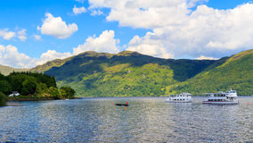 Tarbet Loch Lomond Szkocja Zdjęcia Stock