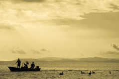 Tarcoles fisherman village - Costa Rica Stock Image