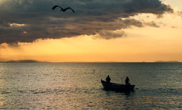 Tarcoles rybaka wioska - Costa Rica Obrazy Stock