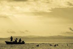 Tarcoles rybaka wioska - Costa Rica Obraz Stock