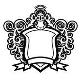 tarcza hełm Obrazy Royalty Free