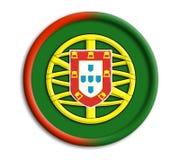 tarcza portugal Zdjęcie Stock