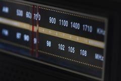 tarcza zaświecający radio zdjęcie royalty free