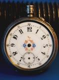 tarcza zegarek stary kieszeniowy Zdjęcia Royalty Free