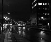 A tarda notte Fotografia Stock Libera da Diritti