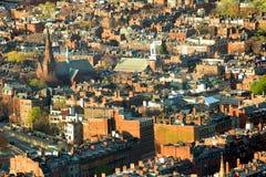 Tarde de Boston foto de archivo libre de regalías