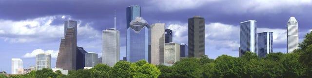 Tarde de Houston imagens de stock royalty free