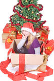 Tarde de la Navidad Foto de archivo