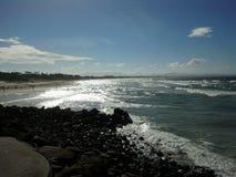 Tarde de la playa Foto de archivo libre de regalías