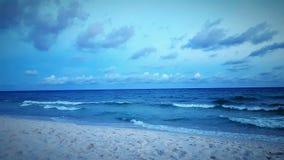 Tarde de la playa Imágenes de archivo libres de regalías