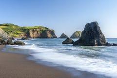 Tarde de la playa del rodeo Imagen de archivo libre de regalías