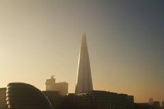 Tarde de Londres Fotos de archivo libres de regalías