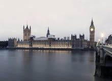 Tarde de Londres Foto de archivo libre de regalías