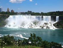 Tarde de Niagara Falls fotografia de stock royalty free