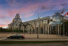 Tarde de Ottawa con los cielos fabulosos Imagen de archivo