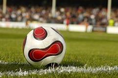 Tarde del fútbol Imagen de archivo libre de regalías
