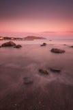 Tarde del mar Foto de archivo libre de regalías