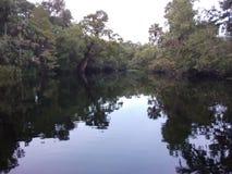 Tarde del río de Burnell imagen de archivo libre de regalías